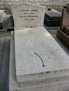 Beauvoir / Sartre Grave (Montparnasse)
