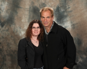 Myself and Julian Sands @ Calgary Comic Expo